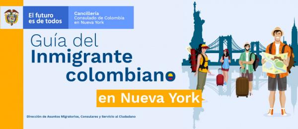 Guía del inmigrante colombiano en Nueva York