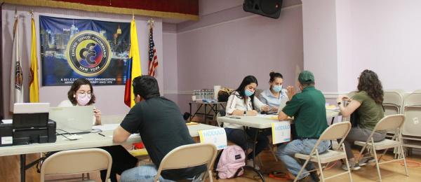 Consulado en Nueva York lideró jornada de inscripción de cédulas
