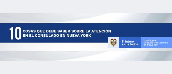 Diez cosas que debe saber sobre la atención en el Consulado en Nueva York