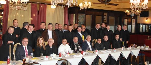 Consulado de Colombia en Nueva York reunió a sacerdotes colombianos para dialogar sobre el proceso de paz que se adelanta en La Habana